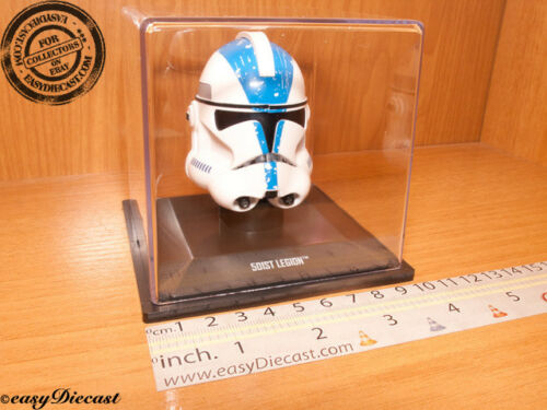 501st 501-st LEGION STAR WARS  HELMET 1//5 MINT WITH CASE!!!