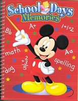 Mickey Mouse School Days Memories Scrapbook Memory Photo Book Disney