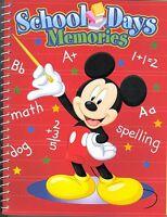 Mickey Mouse School Days Memories Scrapbook Memory Photo Book Disney
