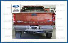 1999 - 2007 Ford SUPER DUTY tailgate banner decal sticker letters f250 f350 f450