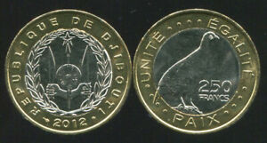 DJIBOUTI-250-FRANCS-BI-METALLIC-2012-COIN-UNC