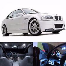LED White Lights Interior License Package Kit For BMW E46 1999-2006 (20 Bulbs)