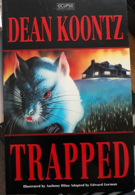 Trapped by Dean Koontz (Paperback, 1993)