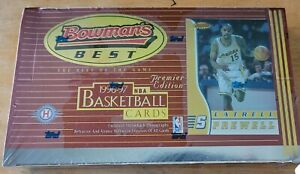 1996-97 Bowman's Best Basketball Factory Complete Box