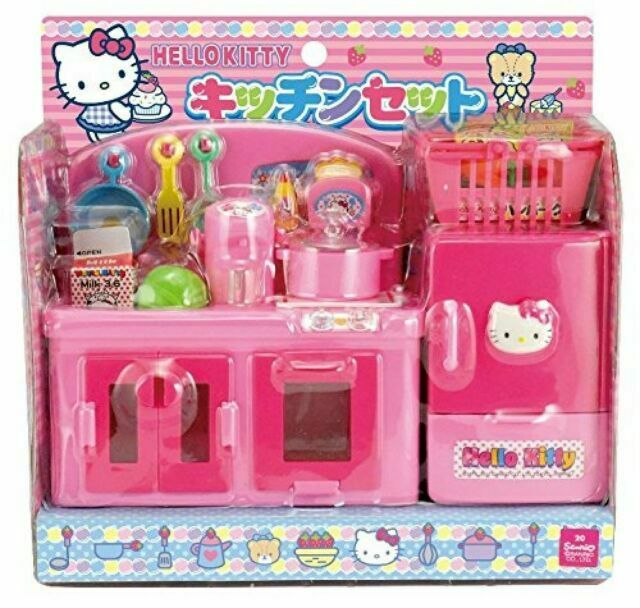 Sanrio Hello Kitty Kitchen Set Toy Japan Import Gift 2586 For Sale Online Ebay