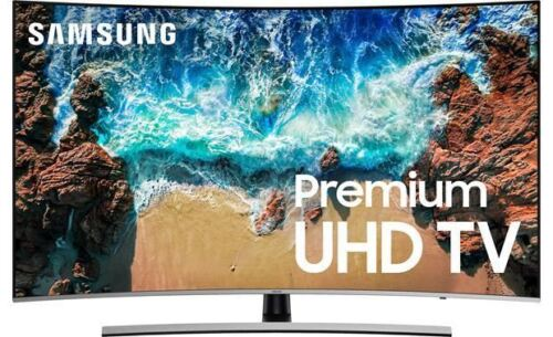 """Samsung UN65NU8500 65/"""" curved Smart LED 4K Ultra HD TV with HDR"""