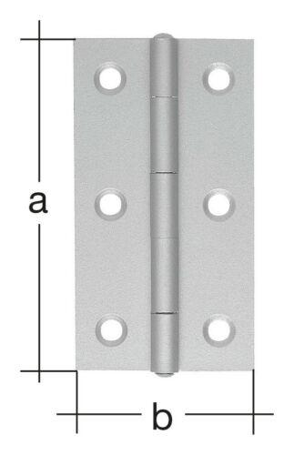 361181 Alberts Gerolltes schmit Scharnier VA//60 mm