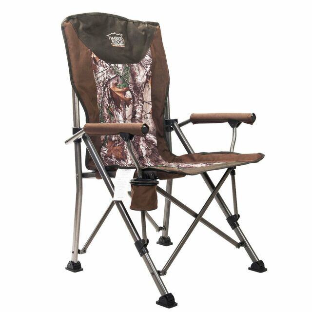 Pleasing Camo Camping Chair Ergonomic Hunting Outdoor Activity Foldable Canvas Cup Holder Machost Co Dining Chair Design Ideas Machostcouk