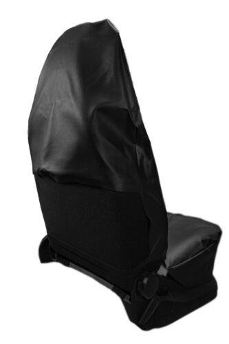 Piel sintética werkstattschoner protector asientos fundas para asientos adecuado para Fiat