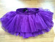 Purple BURLESK tutu skirt goth / cybergoth - one size