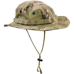 ARMY STYLE GI BOONIE HAT + NECK PROTECTOR MILITARY COMBAT CAMOGROM ... ac1a70d43e5