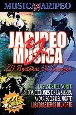 Jaripeo y Musica: 30 Nortenas de Corazon DVD***NEW***