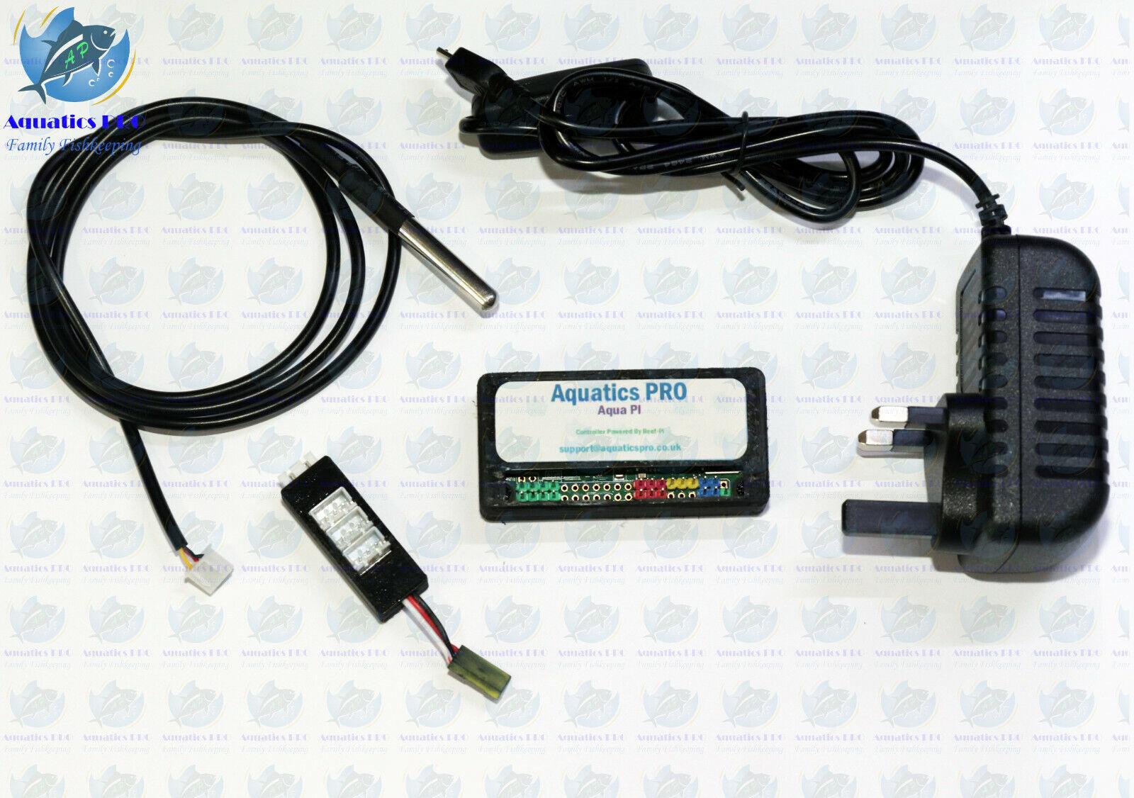 Aqua Pi di baseACQUARIO controller con sensore di temperatura interfaccia web