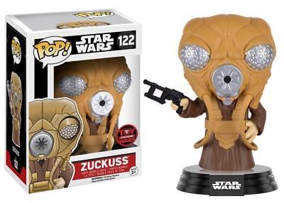 Vinyl Figure #122 Toy Wars Exclusive Star Wars Bounty Hunter Zuckuss Pop