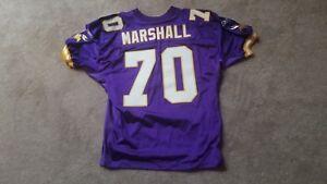 Image is loading Vintage-2002-Minnesota-Vikings-Jim-Marshall-70-Authentic- fa44af064
