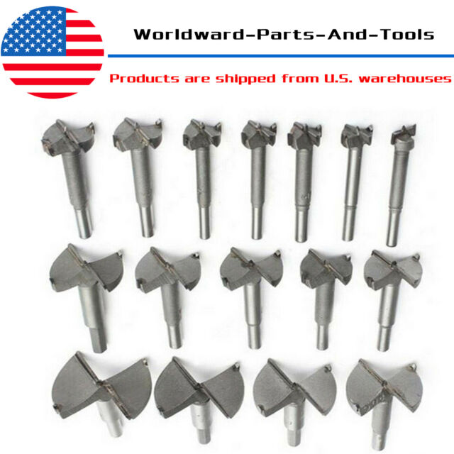 15-100mm Forstner Boring Hole Saw Cutting Wood Cutter Holesaw Drill Bits Tools