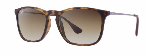 bbc5f317fa Ray Ban Sunglasses RB 4187 856 13 Rubber Havana brown Gradient 54mm for  sale online