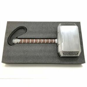 1:1 Cattoys Full Metal The Avengers 4 Endgame Marvel Thor Hammer Model Mjolnir