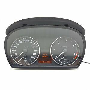 BMW-E90-Diesel-Compteur-Ensemble-Instrument-Compteur-Km-H