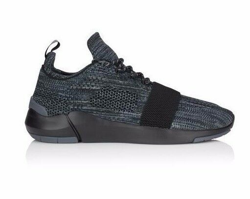 CREATIVE RECREATION CR0470015 CERONI Mn's (M) Black/Smoke Knitted Running Shoes