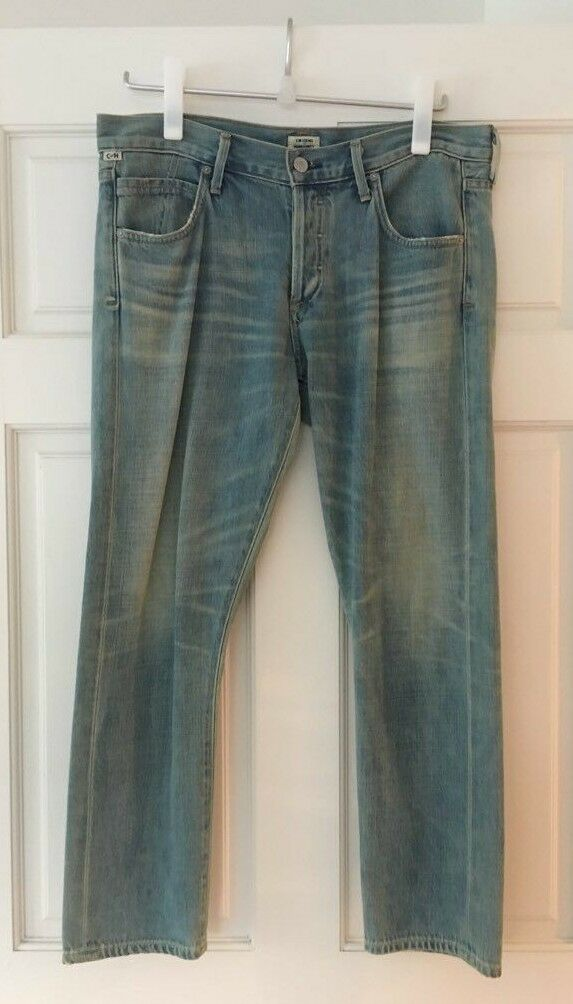 Citizens of Humanity Denim Elsa Mid-Rise Relaxed Slim Fit Crop Jeans Arleta 28