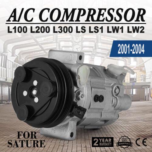 AC A//C Compressor For 2001-2004 Saturn L100  L200  L300  LS  LS1 LW1  LW2 CE