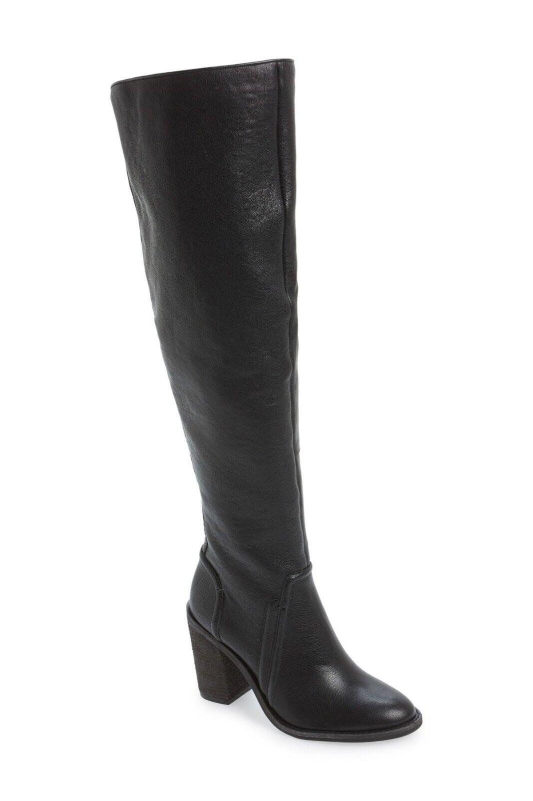 tienda de ventas outlet Nuevo Vince Camuto Melaya over-the-Rodilla Bota, cuero negro, tamaño tamaño tamaño 5, 240    de moda