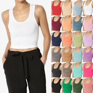 TheMogan-Basic-Racerback-Cropped-Tank-Top-Sleeveless-Scoop-Neck-Plain-Crop-Tee