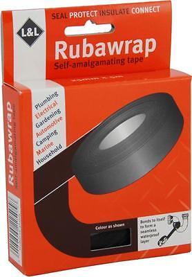 L&L Rubawrap Self Amalgamating Tube Repair Tape - Rubber Weld Tape
