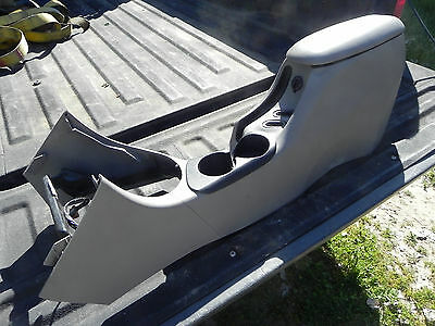 FORD MUSTANG COMPLETE CENTER CONSOLE GRAY