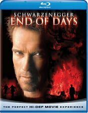 END OF DAYS (Arnold Schwarzenegger) -  Blu Ray - Sealed Region free