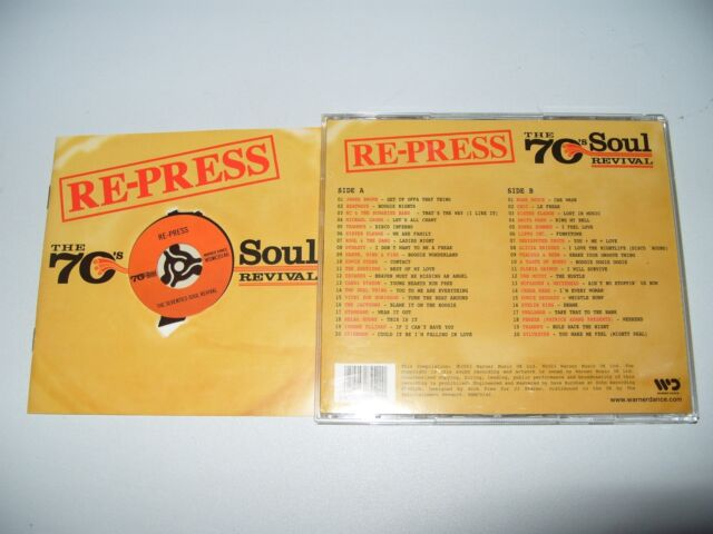 seventies Re-Press 70's Soul Revival, disco party-2003  2 cd Excellent condition