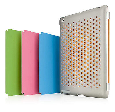 Belkin iPad 2 Perforated Snap Shield F8N644qeC00 Secure Case cover