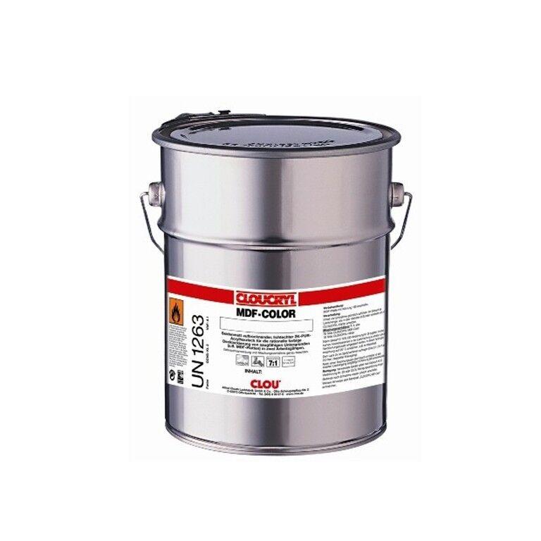 CLOU Profi CLOUCRYL MDF-Farbe RAL 9016 verkehrsweiß 2,5 Liter