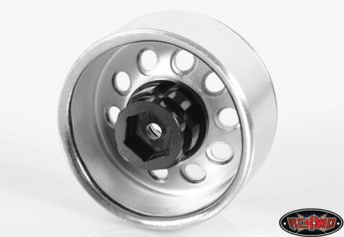 """9 Offset OEM Waggon Stamped Z-S0780 RC4WD 1.9/"""" 2.2 6 Lug Acero Rueda Buje hexagonal de"""