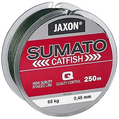 JAXON SUMATO CATFISH Wels 250m Geflochtene Schnur Angelschnur  Ø 0,36-0,50mm