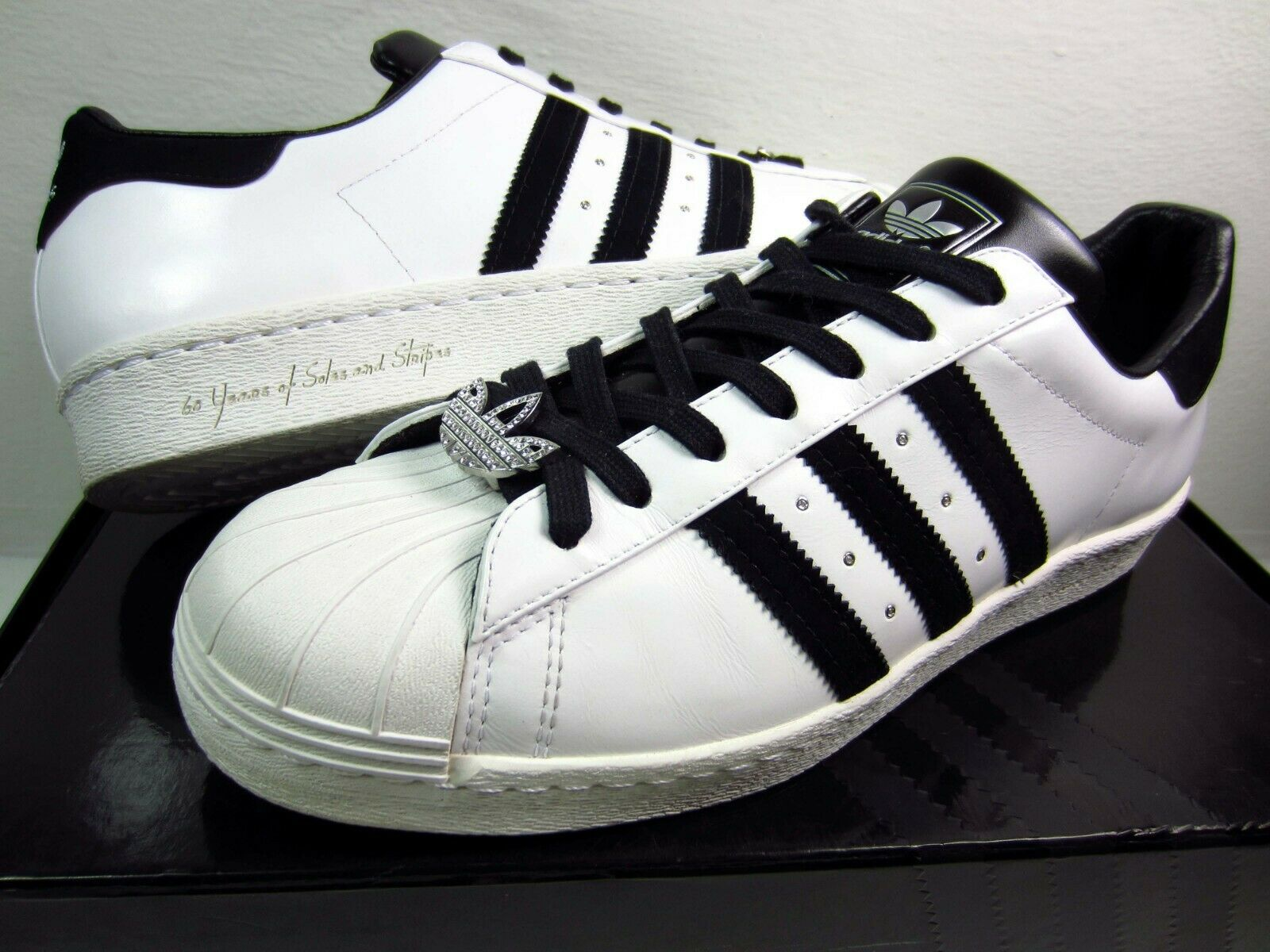 95da018b7 Adidas Superstar 80s D 60 Years of Soles and Stripes Anniversary Edition  Size 11