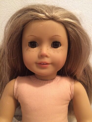 AMERICAN GIRL Doll Blond With Brown Eyes