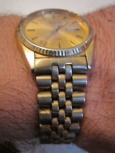 VINTAGE-SEIKO-DAY-DATE-WATCH-JUBILEE-BAND-RUNS-GREAT-TUB-SC-6
