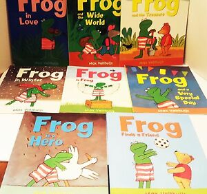 Lot Books Frog Max Velthuijs Friends Special day is Hero School Wide World Home