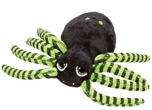 Suki Tarantula Spinne  Größe M ca 25cm grün-schwarz mit Glitzeraugen