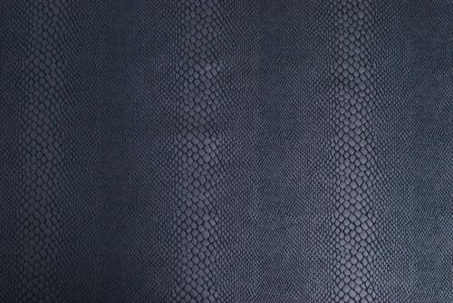 Jersey blu scuro spalmato pitonato TESSUTO MAGLINA A METRO STOFFA a metraggio