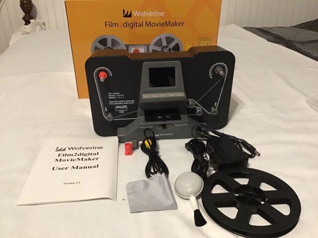 Wolverine Reels2Digital 8mm and Super 8 Movie Reels to Digital MovieMaker