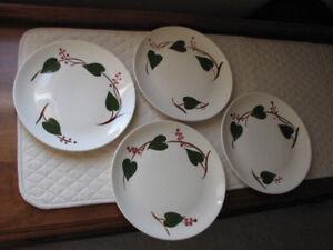 Blue Ridge Southern Pottery Ivy Pattern Dish Set