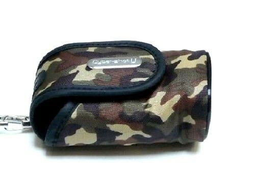 SONY LCS-UD Camouflage Soft Carry Case Army Bag for DSC-U10/U20 / Brand New