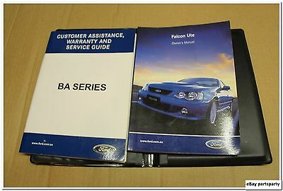 owners manual collection on ebay rh ebay com au 1969 Ford Falcon 2003 Ford Falcon