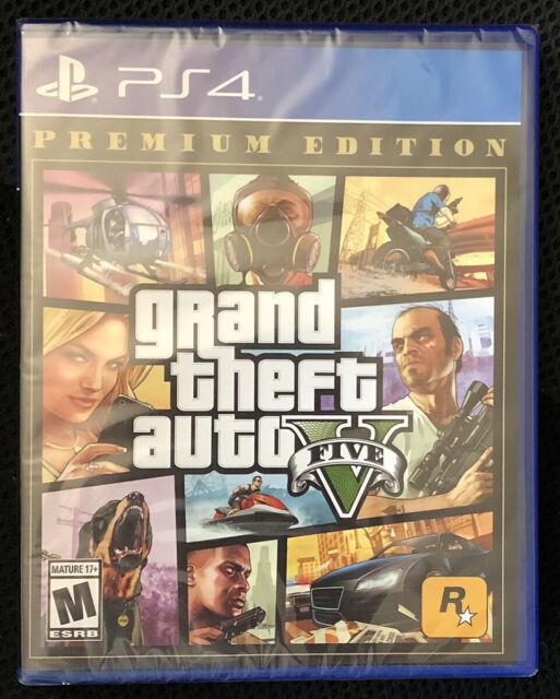 Grand Theft Auto V: Premium Edition - Sony PlayStation 4 - PS4 - BRAND NEW