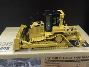Details about Caterpillar Cat D6R XL Track-Type Tractor 1/50 DieCast By  DieCast Masters 85910