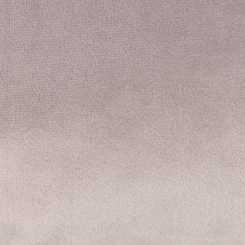 Samtkissen mit Kederumrandung und Federfüllung silbergrau 30x50cm SCHÖNER LEBEN