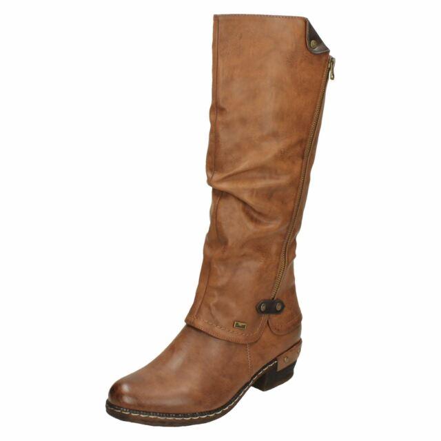 Damen Rieker Kniehoch Lässig Boots 93655' günstig kaufen | eBay CXlhI
